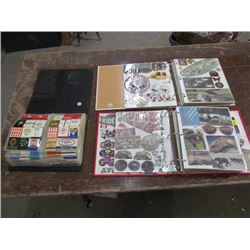 2 Books with Cut outs+Match book collection