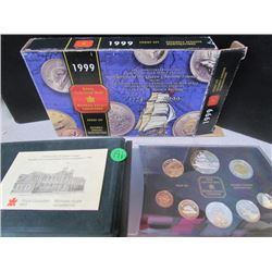 1999 Royal Canadian Mint Proof Set