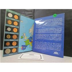 Euro Coin Collection with Authenticty
