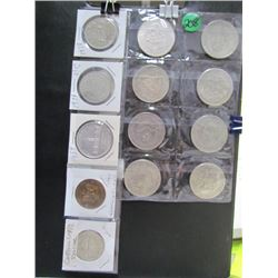 Mexican Coins + Silver Dollars