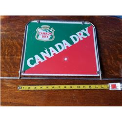 Canada Dry Double sided Bottle Rack Sign
