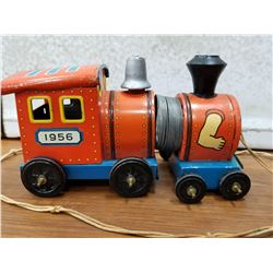 1950s Marx Pull Train Toy-Good Spring