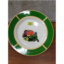 JD Decorator Plate Showing 1935 Model B Tractor