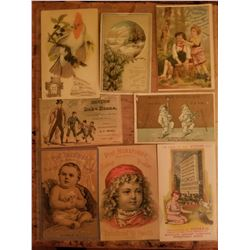 8-1890's Advertising Mail Out Cards