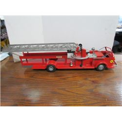 "33"" Fire truck metal toy"
