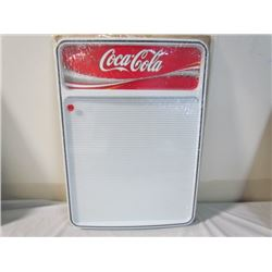 Coke Menu Boards with Letters Plastic