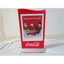 Coke Advertising Stand 11x19