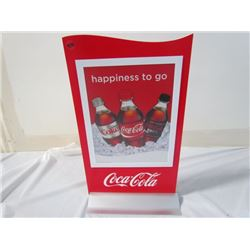 Coke Advertising Stands 11x19