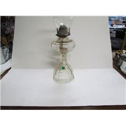 #2 Colonial Coal Oil Lamp and Chimeny