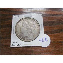 USA Morgan Silver Dollar 1896