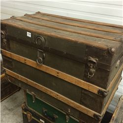 Steamer Trunk-34w,19D,21H Very Clean