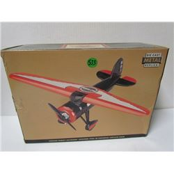 Die Cast Metal Replica Vintage Harley Davidson Lockheed Vega 5B highway airplane bank