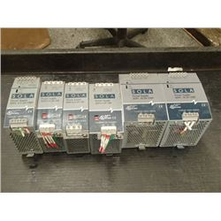 MISCELLANEOUS ELECTRONICS LOTOF SOLA POWER SUPPLIES AND MORE!! SEE PICS!!
