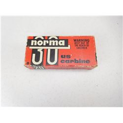 NORMA .30 US CARBINE AMMO