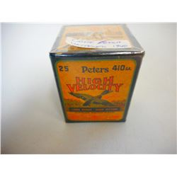 PETERS HIGH VELOCITY 410 GA AMMO