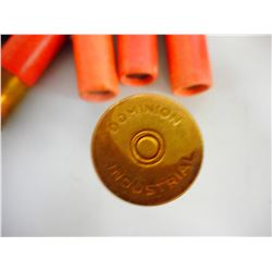 "DOMINION INDUSTRIAL SHELLS ""CLINKERS"" AMMO"