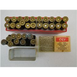 ASSORTED AMMO & PRIMERS