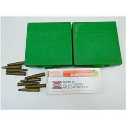 ASSORTED AMMO & AMMO CASES