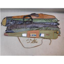 ASSORTED AMMO & RIFLE CASES