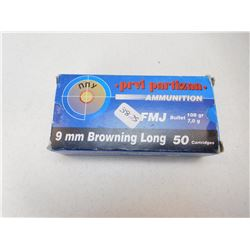PRVI PARTIZAN 9MM BROWNING LONG AMMO