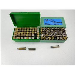 ASSORTED 38 SPL AMMO
