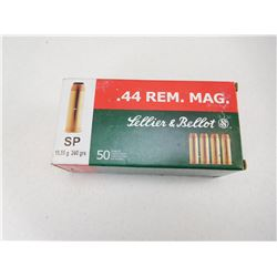 SELLIER & BELLOT 44 REM MAG AMMO