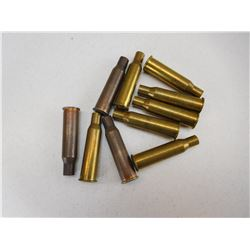 ASSORTED 7.62 X 54 R BRASS