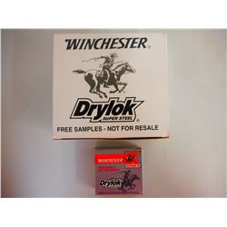 "WINCHESTER DRYLOK 12 GA 2 3/4""SAMPLE PACKS"