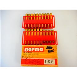 ASSORTED 8 X 57 JS AMMO