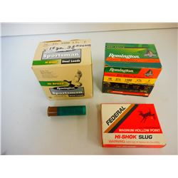 "ASSORTED 10 GA 3 1/2"" SHOTGUN AMMO"