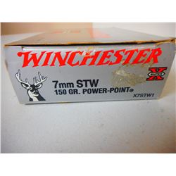 WINCHESTER 7MM STW AMMO