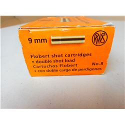 RWS 9MM FLOBERT SHOT
