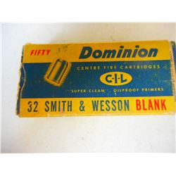 DOMINION 32 S&W BLANKS