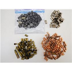 ASSORTED BULLETS & BRASS