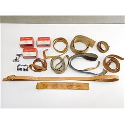 ASSORTED SCOPE & SLING PARTS