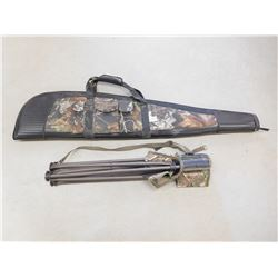 RIFLE CASE & FOLDING CHAIR