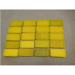 ASSORTED PLASTIC AMMO TRAYS