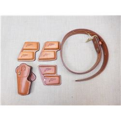LEATHER BELT & HOLSTERS