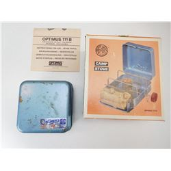 OPTIMUS CAMP STOVE