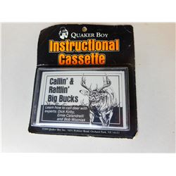 QUAKER BOY INSTRUCTIONAL CASSETTE