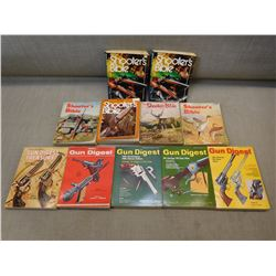 ASSORTED SHOOTER'S BIBLE & GUN DIGEST BOOKS