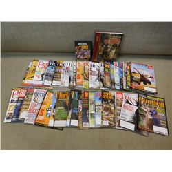 ASSORTED BOOKS & MAGAZINES