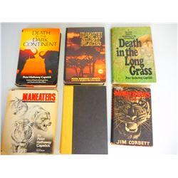 ASSORTED HUNTING BOOKS
