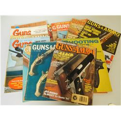 ASSORTED FIREARMS MAGAZINES