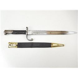 MAUSER BAYONET WITH SCABBARD