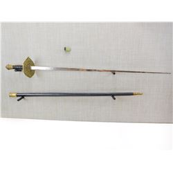 DECORATIVE SWORD WITH SCABBARD