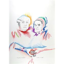 Marisol Escobar, Women's Equality, Lithograph