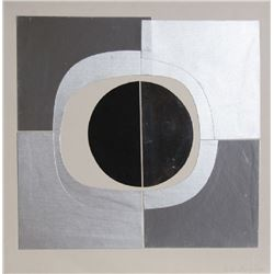 Amadeo Gabino,  - Black Circle, Collage Multiple