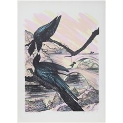 Susan Hall, Black Beauty, Lithograph
