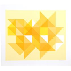 Arnold Hoffman, Jr., Triangle Y, Silkscreen